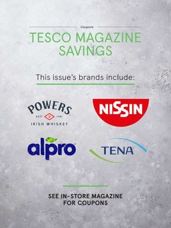 Supermarkets offers in the Tesco catalogue ( 11 days left )