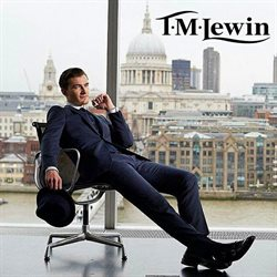 T.M. Lewin offers in the London catalogue
