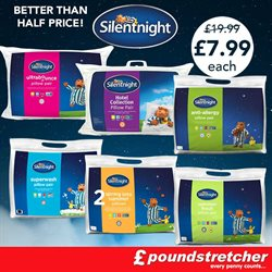Bedding offers in the Poundstretcher catalogue in Worthing
