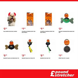 Halloween offers in the Poundstretcher catalogue in London