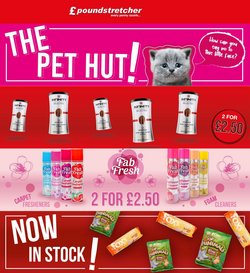 Supermarkets offers in the Poundstretcher catalogue ( 12 days left)