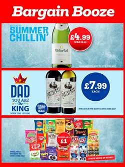 Bargain Booze offers in the Stoke-on-Trent catalogue