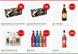 Beer offers in the Bargain Booze catalogue in Lambeth