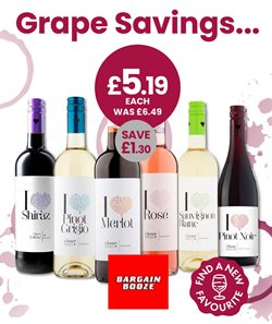Bargain Booze catalogue ( 3 days ago )