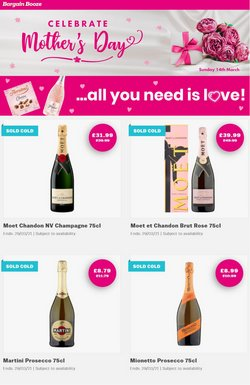 Mother's Day offers in the Bargain Booze catalogue ( 25 days left)
