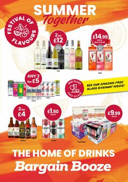 Bargain Booze offers in the Bargain Booze catalogue ( 12 days left)