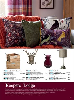 Curtains offers in the Dunelm Mill catalogue in London