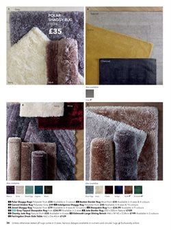 Rug offers in the Dunelm Mill catalogue in London