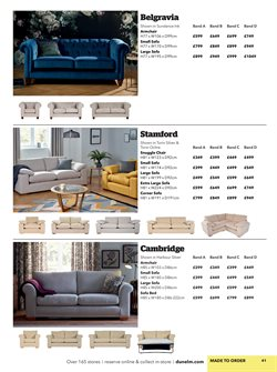 Sofa bed offers in the Dunelm Mill catalogue in London