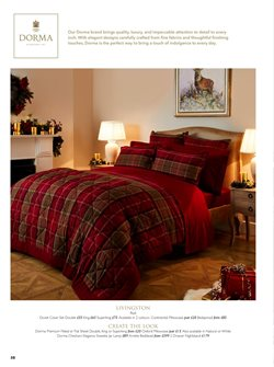 Bedding offers in the Dunelm catalogue in London