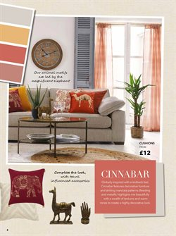Cushions offers in the Dunelm catalogue in London