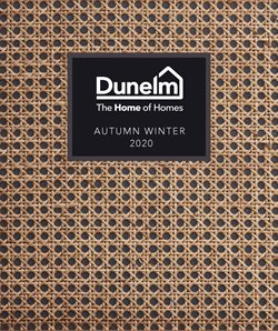 Dunelm catalogue ( More than a month )