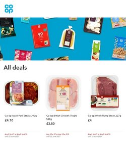 Supermarkets offers in the The Co-operative Food catalogue ( Expires today)