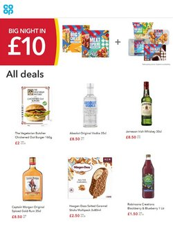 The Co-operative Food offers in the The Co-operative Food catalogue ( 6 days left)