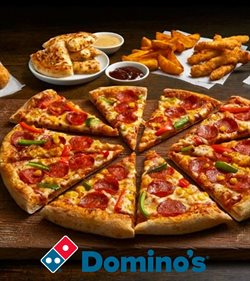 Restaurants offers in the Domino's Pizza catalogue in Aberdeen