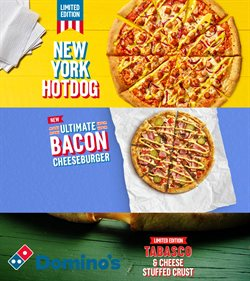 Domino's Pizza catalogue in Leeds ( More than a month )