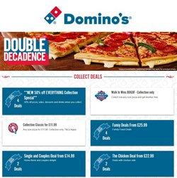 Domino's Pizza catalogue ( Expires tomorrow)