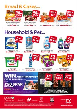 Cake offers in the Spar catalogue in Tower Hamlets