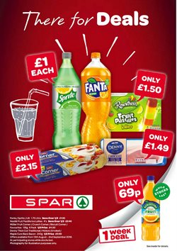 Spar offers in the York catalogue