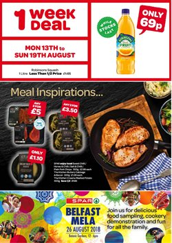 HP offers in the Spar catalogue in London