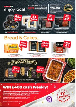 Christmas offers in the Spar catalogue in Worthing