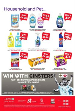 Gel offers in the Spar catalogue in Cheltenham