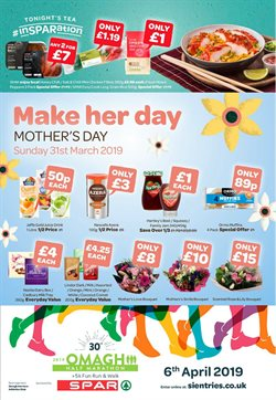 Flower offers in the Spar catalogue in London