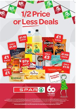 Spar catalogue in Liverpool ( Expired )