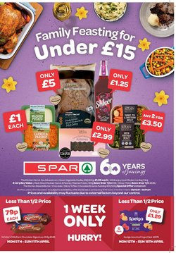 Spar catalogue in Liverpool ( 6 days left )