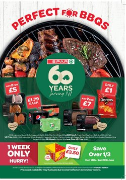Supermarkets offers in the Spar catalogue ( 5 days left)