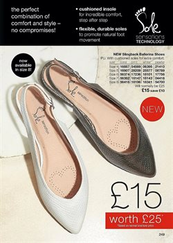 Ballerina offers in the Avon catalogue in London