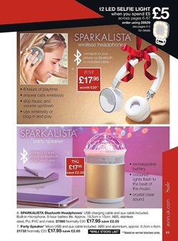 Flash offers in the Avon catalogue in London