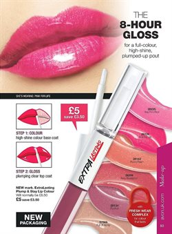 Makeup offers in the Avon catalogue in London