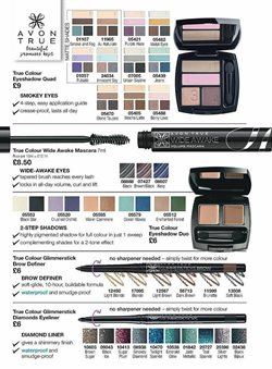 Eyeshadow offers in the Avon catalogue in London
