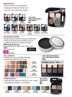 Brushes offers in the Avon catalogue in London
