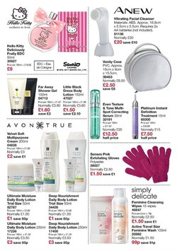 Perfumery offers in the Avon catalogue in London