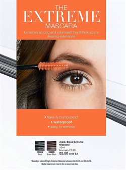 Mascara offers in the Avon catalogue in London