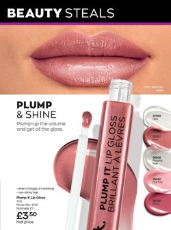 Offers of Lip gloss in Avon