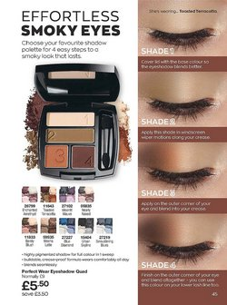 Offers of Eyeshadow in Avon