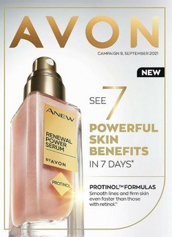 Pharmacy, Perfume & Beauty offers in the Avon catalogue ( 8 days left)