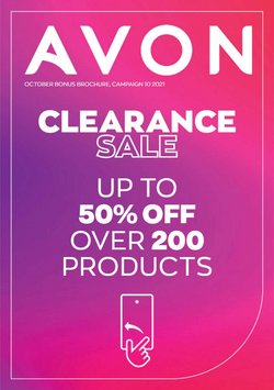 Pharmacy, Perfume & Beauty offers in the Avon catalogue ( 4 days left)