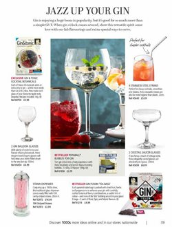 Gin offers in the Lakeland catalogue in York
