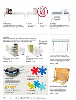 Shelving offers in the Lakeland catalogue in Oxford