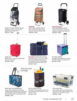 Suitcase offers in the Lakeland catalogue in London