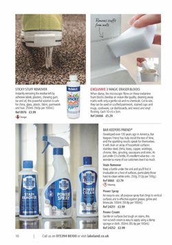 Wallpaper offers in the Lakeland catalogue in London