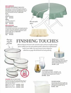 Cushions offers in the Lakeland catalogue in London