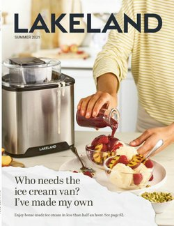 Sales offers in the Lakeland catalogue ( 13 days left)