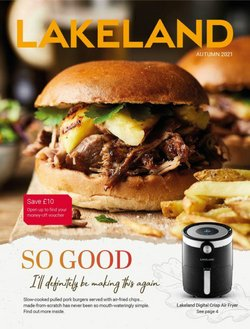 Lakeland offers in the Lakeland catalogue ( 9 days left)