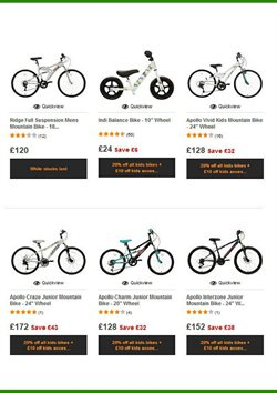 Suspension offers in the Halfords catalogue in Middlesbrough