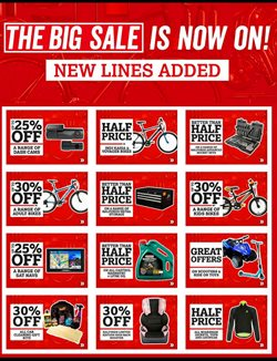 Cars, motorcycles & spares offers in the Halfords catalogue in Birkenhead